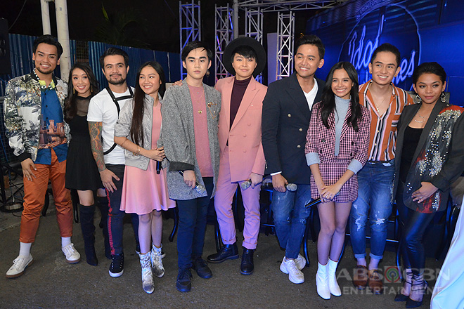 IN PHOTOS: Idol Philippines Top 12 Grand Presscon