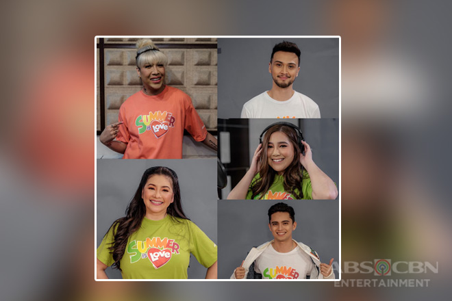"Idol PH stars bring life to 2019 ABS-CBN summer theme ""Summer is love"""