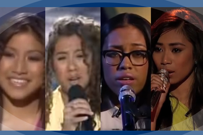 Proudly Pinoy talents who joined American Idol through the years