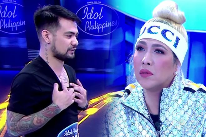 Idol Philippines 2019 Auditions: Renwick, ipinakita ang kanyang tattoo sa Judges